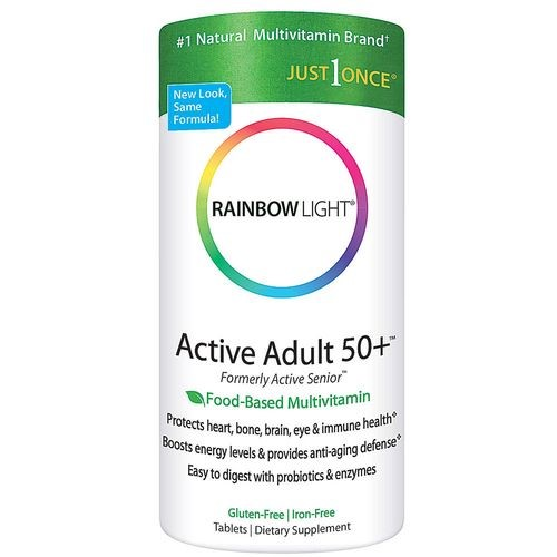 Rainbow Light Active Adult 50+